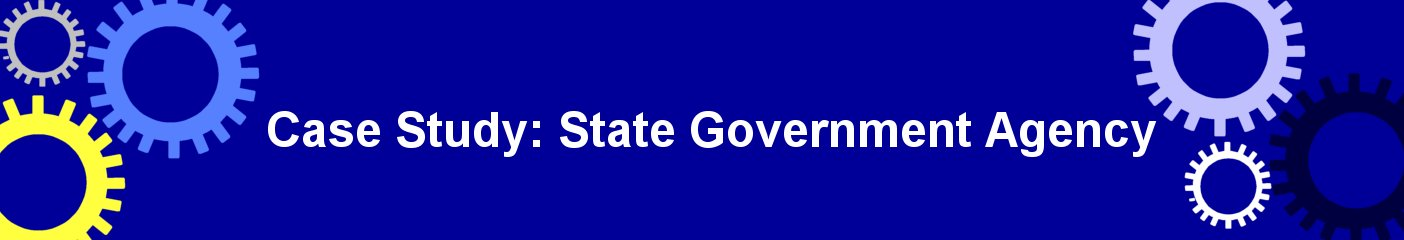 state government agency case study
